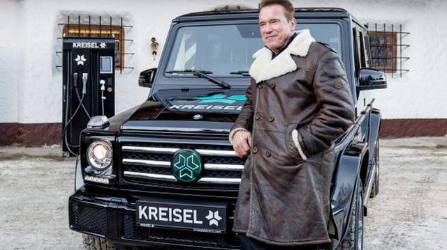 Hummer H1 của kẻ hủy diệt Arnold Schwarzenegger được biến thành SUV điện - Ảnh 1.