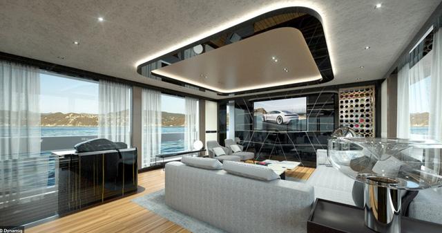 Cận cảnh siêu du thuyền mới hạ thủy trị giá 380 tỷ Đồng của Porsche - Ảnh 6.