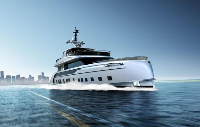 Cận cảnh siêu du thuyền mới hạ thủy trị giá 380 tỷ Đồng của Porsche - Ảnh 10.
