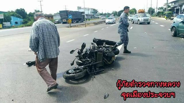 Nữ biker điều khiển mô tô phân khối lớn đâm lõm cả sườn ô tô sang đường - Ảnh 6.