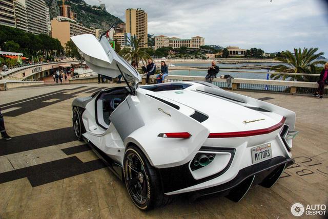 Frangivento Asfanè Charlotte Roadster - Siêu xe đi kèm bể cá trong nội thất tái xuất - Ảnh 4.