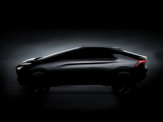 Mitsubishi e-Evolution - Crossover công nghệ cao sẽ ra mắt trong tháng này - Ảnh 1.
