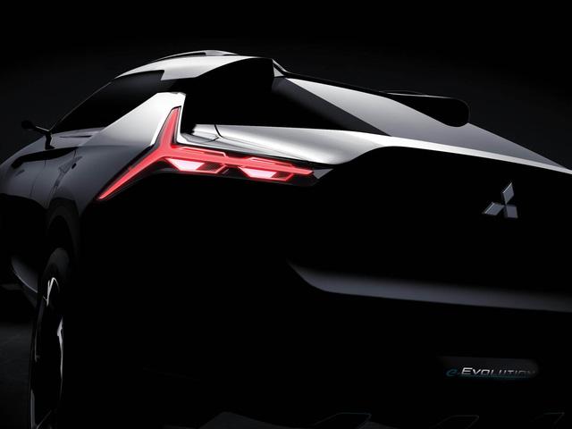 Mitsubishi e-Evolution - Crossover công nghệ cao sẽ ra mắt trong tháng này - Ảnh 2.