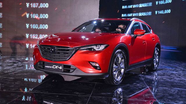 Crossover cỡ nhỏ khiến nhiều người phát thèm Mazda CX-4 bất ngờ xuất ngoại - Ảnh 4.