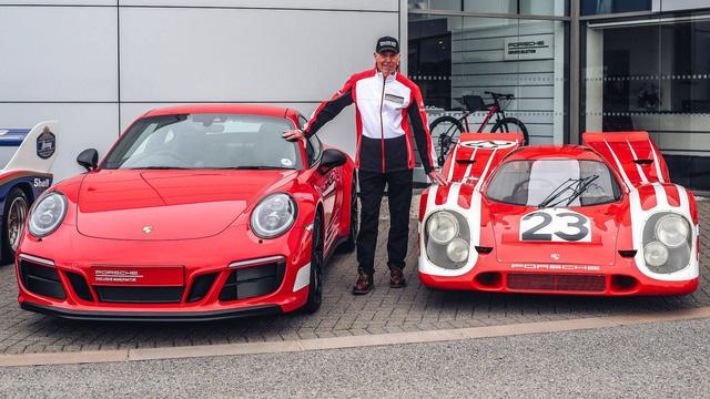 911 GTS British Legends Edition - Xe tôn vinh những chiến thắng lịch sử của Porsche - Ảnh 3.