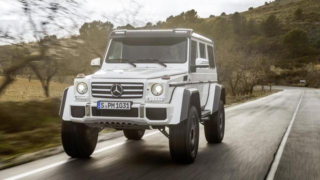 SUV hạng sang bánh lớn Mercedes-Benz G500 4×4² bị khai tử trong tháng này - Ảnh 1.