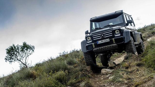 SUV hạng sang bánh lớn Mercedes-Benz G500 4×4² bị khai tử trong tháng này - Ảnh 3.