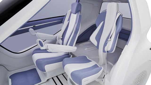Toyota Concept-i Ride - Xe nhỏ nhất thế giới được trang bị cửa cánh chim - Ảnh 6.