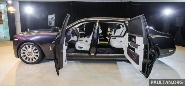 Xe siêu sang Rolls-Royce Phantom 2018 ra mắt Đông Nam Á với giá chưa thuế từ 11,8 tỷ Đồng - Ảnh 8.