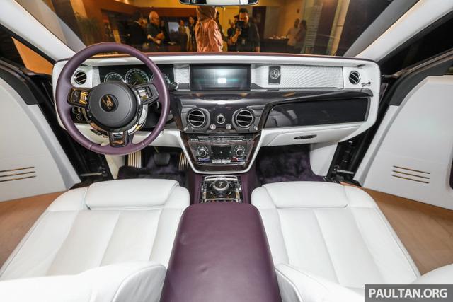Xe siêu sang Rolls-Royce Phantom 2018 ra mắt Đông Nam Á với giá chưa thuế từ 11,8 tỷ Đồng - Ảnh 9.