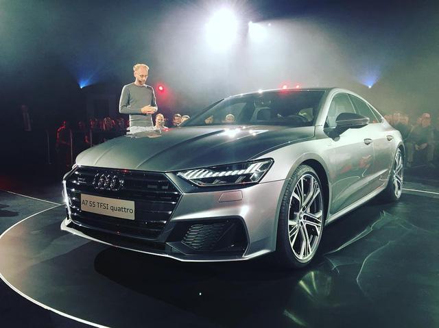 Chiêm ngưỡng vẻ đẹp bằng xương, bằng thịt của xe sang Audi A7 Sportback 2018 mới ra mắt - Ảnh 11.