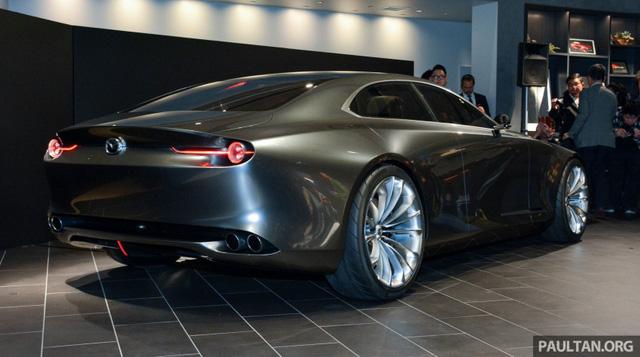 Ngắm Mazda Vision Coupe để biết Mazda6 thế hệ mới sẽ trông như thế nào - Ảnh 10.