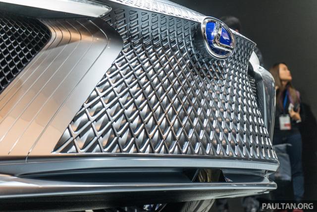 LS+ Concept - Hình ảnh xem trước cho sedan hạng sang đầu bảng của Lexus - Ảnh 2.