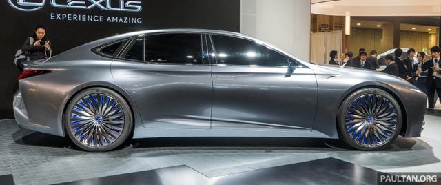 LS+ Concept - Hình ảnh xem trước cho sedan hạng sang đầu bảng của Lexus - Ảnh 6.