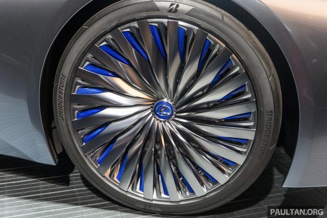 LS+ Concept - Hình ảnh xem trước cho sedan hạng sang đầu bảng của Lexus - Ảnh 8.