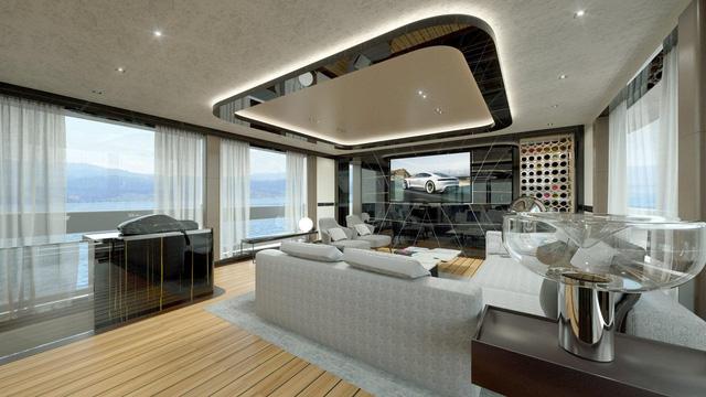 Choáng ngợp với vẻ đẹp của siêu du thuyền trị giá 334 tỷ Đồng của Porsche - Ảnh 8.