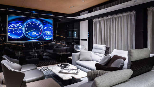 Choáng ngợp với vẻ đẹp của siêu du thuyền trị giá 334 tỷ Đồng của Porsche - Ảnh 12.