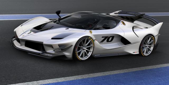 Ferrari vén màn phiên bản nâng cấp của mãnh thú FXX K - Ảnh 1.