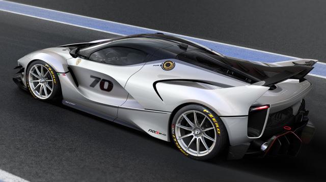 Ferrari vén màn phiên bản nâng cấp của mãnh thú FXX K - Ảnh 2.