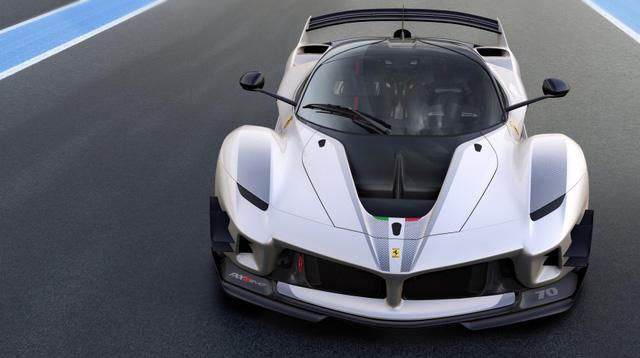 Ferrari vén màn phiên bản nâng cấp của mãnh thú FXX K - Ảnh 3.