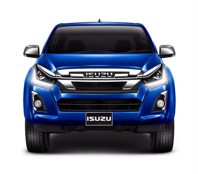 Xe bán tải Isuzu D-Max 2018 lộ diện trước ngày ra mắt chính thức - Ảnh 2.