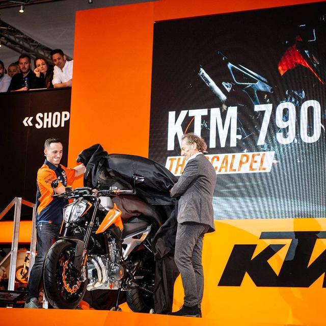 KTM 790 Duke - Naked bike ta?�m trung hoA�n toA�n ma��i - a??nh 2.