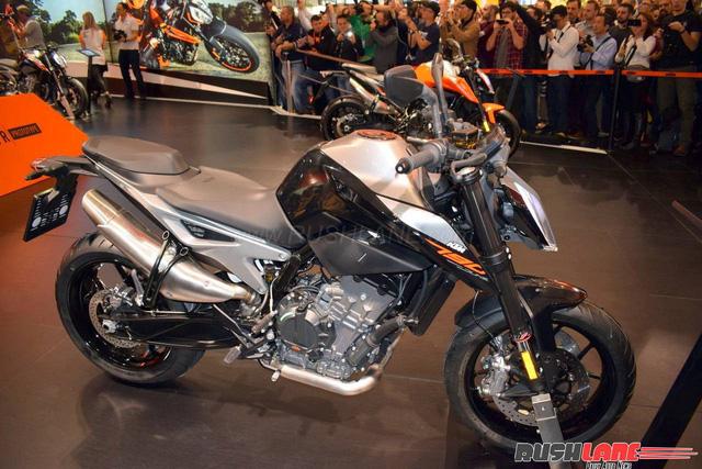 KTM 790 Duke - Naked bike ta?�m trung hoA�n toA�n ma��i - a??nh 12.