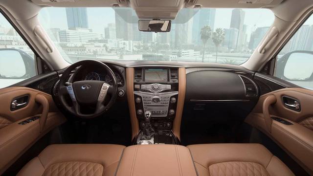 SUV hạng sang cỡ lớn Infiniti QX80 2018 lộ diện trước giờ G, sẵn sàng cạnh tranh Lexus LX570 - Ảnh 3.