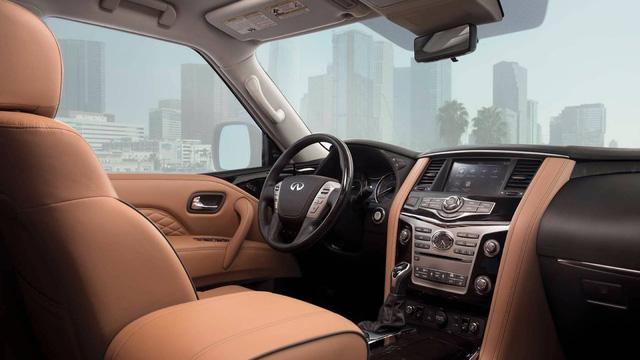 SUV hạng sang cỡ lớn Infiniti QX80 2018 lộ diện trước giờ G, sẵn sàng cạnh tranh Lexus LX570 - Ảnh 4.