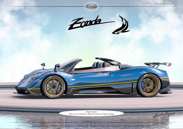Pagani thai nghén phiên bản có một không hai mới của siêu xe Zonda - Ảnh 3.