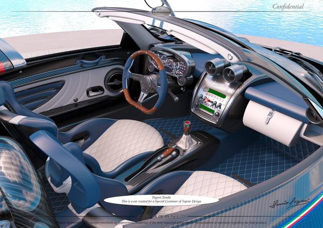 Pagani thai nghén phiên bản có một không hai mới của siêu xe Zonda - Ảnh 4.
