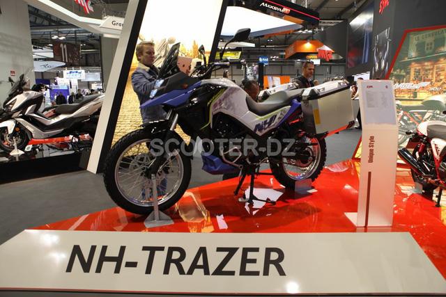 SYM NH-Trazer 200 - Xe adventure phA? ha�?p va��i A?A?ng Nam A? - a??nh 2.