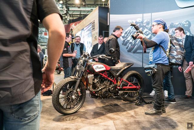 Đây có thể là chiếc mô tô ấn tượng nhất tại triển lãm EICMA 2017 - Ảnh 1.