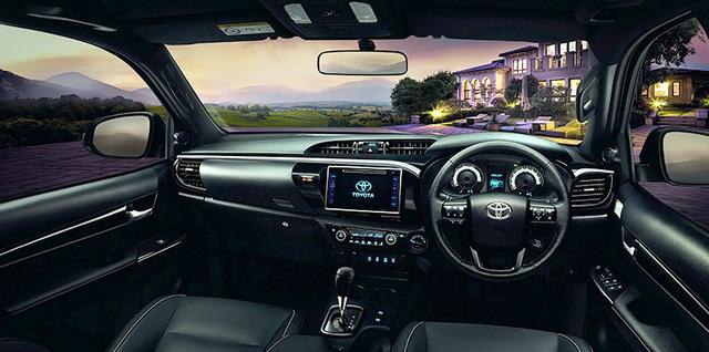 Toyota Hilux 2018 ra mắt với thiết kế tương tự Tacoma, khác xe ở Việt Nam - Ảnh 8.