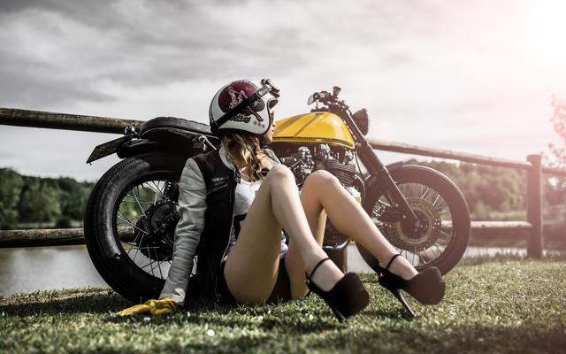 Xế độ Kawasaki Z650 nhẹ nhàng bên cô nàng xinh đẹp - Ảnh 7.