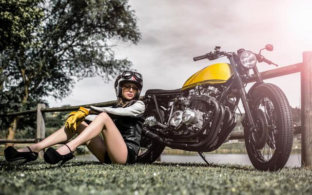 Xế độ Kawasaki Z650 nhẹ nhàng bên cô nàng xinh đẹp - Ảnh 5.