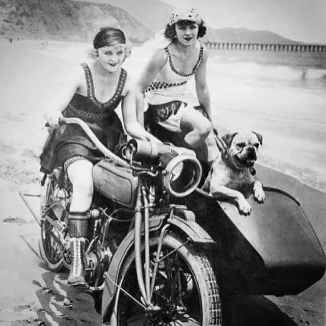 Phụ nữ và xe của thế kỷ trước - Ảnh 5.