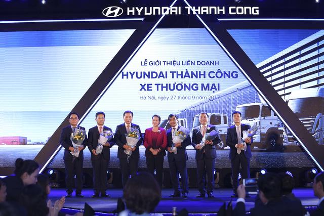 Hyundai Thành Công chính thức trở thành đối tái duy nhất sản xuất xe tải, xe bus Hyundai - Ảnh 1.
