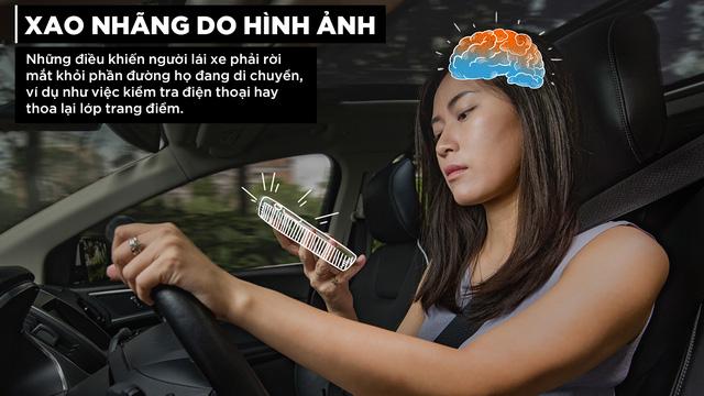 Những con số biết nói về sự mất tập trung khi lái xe - Ảnh 3.