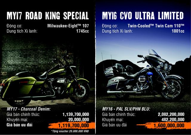 Harley-Davidson mạnh tay giảm giá tới gần 500 triệu đồng cho khách hàng Việt - Ảnh 1.