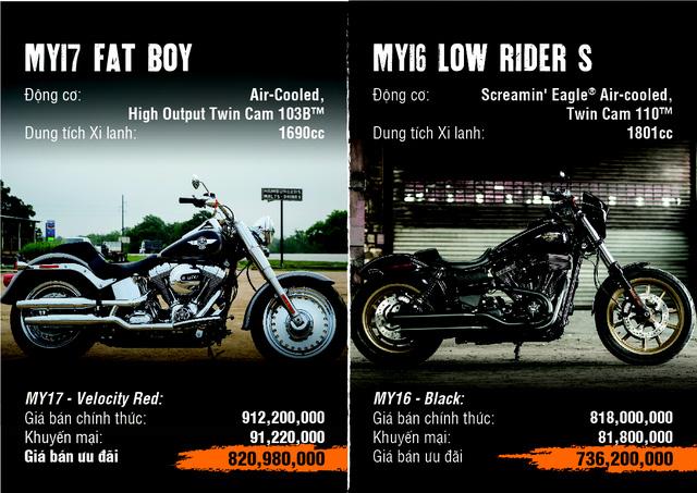 Harley-Davidson mạnh tay giảm giá tới gần 500 triệu đồng cho khách hàng Việt - Ảnh 2.