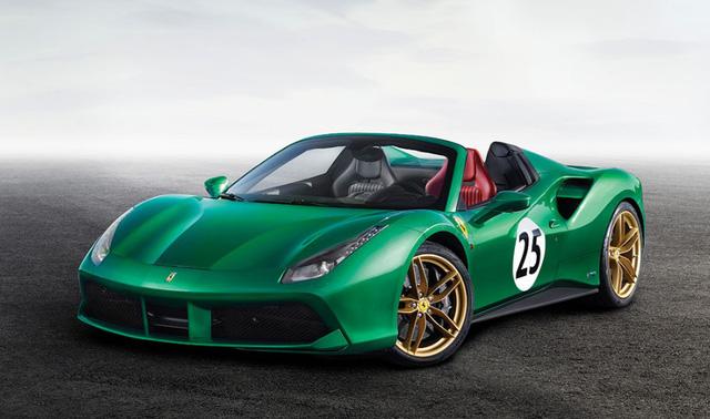 Ferrari 488 Spider độc nhất vô nhị trên thế giới được bán với mức giá giật mình 1,31 triệu USD - Ảnh 1.
