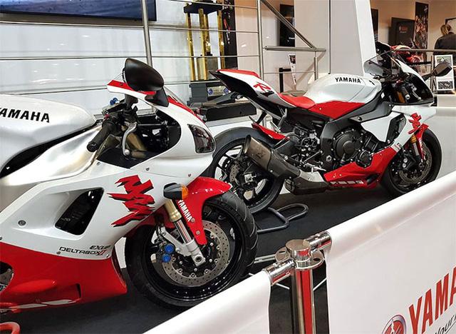 Ra mắt Yamaha R1 bản kỷ niệm 20 năm trở lại thời tiền sử - Ảnh 5.