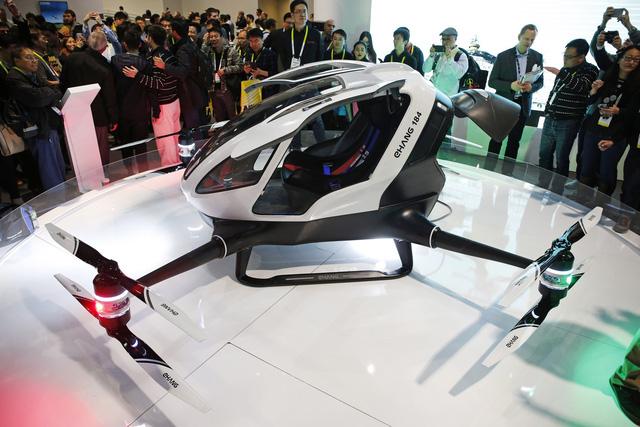 Taxi bay không người lái: Tham vọng của startup Trung Quốc - Ảnh 1.