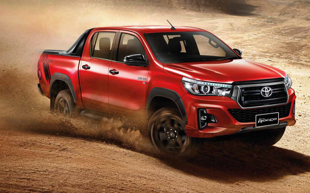 Toyota xuất khẩu ngược Hilux từ Thái Lan về Nhật Bản - Ảnh 1.