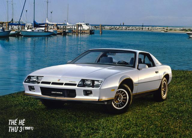 Hành trình hơn 50 năm thăng trầm của Chevrolet Camaro - Ảnh 11.