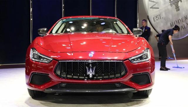 Vén màn sedan hạng sang Maserati Ghibli 2018 với giá từ 3,16 tỷ Đồng - Ảnh 4.