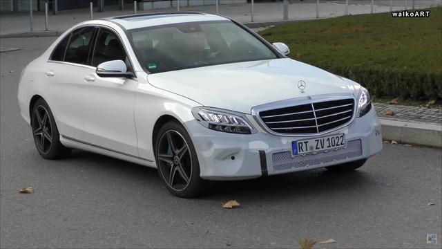 Mercedes-Benz C-Class phiên bản mới lộ ảnh chạy thử phiên bản gần sản xuất - Ảnh 2.
