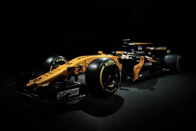 Renault ra mắt xe đua F1 mới cho mùa giải 2017 - Ảnh 4.