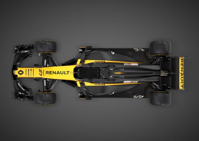 Renault ra mắt xe đua F1 mới cho mùa giải 2017 - Ảnh 2.